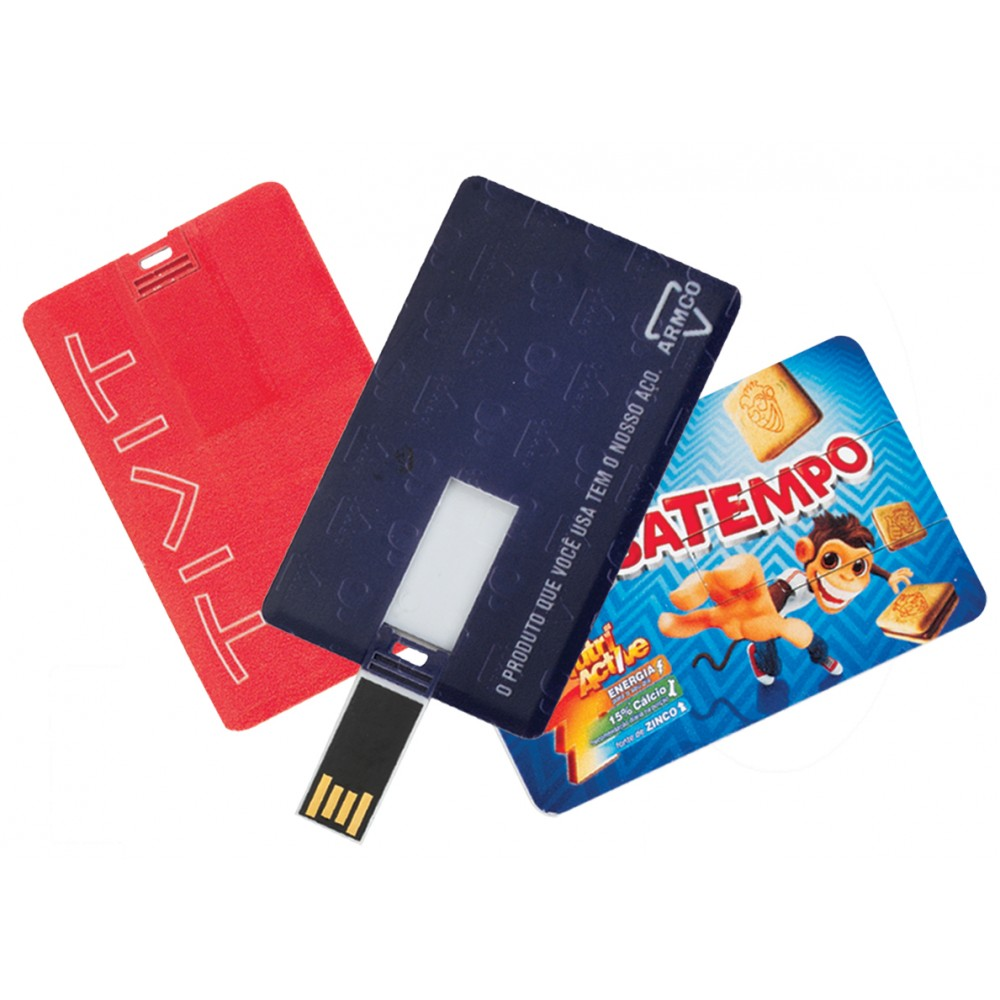 Pen Card Personalizado PVC 8GB